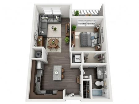 A10- ONE BEDROOM ONE BATH