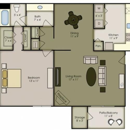 2 bed 2 bath apartment in birmingham al 700 riverchase - One bedroom apartments birmingham al ...