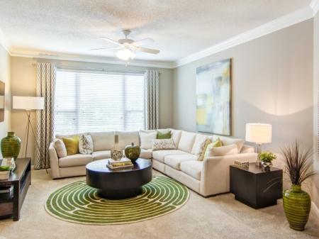 Spacious Living Room | Apartments in Atlanta, GA | Hawthorne Gates