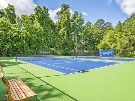 Tennis Court | Apartments Atlanta, GA | Hawthorne Gates
