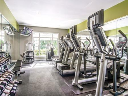 State-of-the-Art Fitness Center | Apartment Homes in Atlanta, GA | Hawthorne Gates