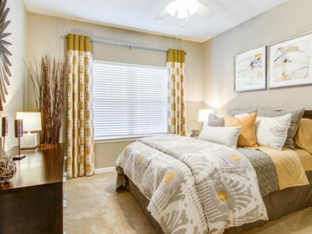 Guest Bedroom | Atlanta GA Apartments | Hawthorne Gates
