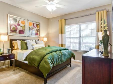 Master Bedroom | Apartment Homes in Atlanta, GA | Hawthorne Gates