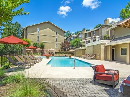Sparkling Pool | Apartments Homes for rent in Sandy Springs, GA | Dunwoody Courtyards