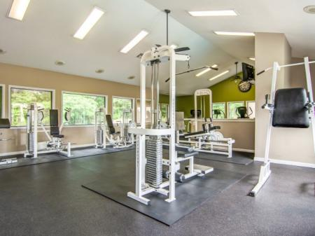 Apartment Fitness Center, State of the art fitness center | Apartments Homes for rent in Sandy Springs, GA | Dunwoody Courtyards
