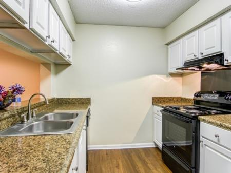 Updated Kitchen | Apartments Homes for rent in Sandy Springs, GA | Dunwoody Courtyards