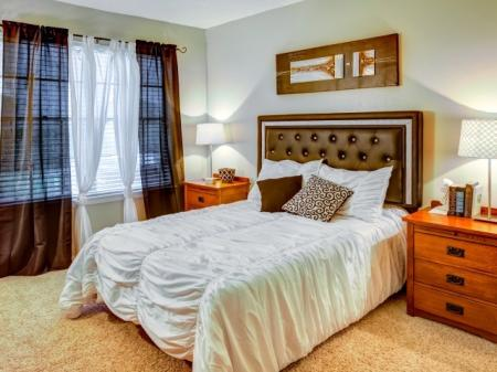 Spacious Bedroom | Apartments Homes for rent in Austin, TX | Hunt Club Austin