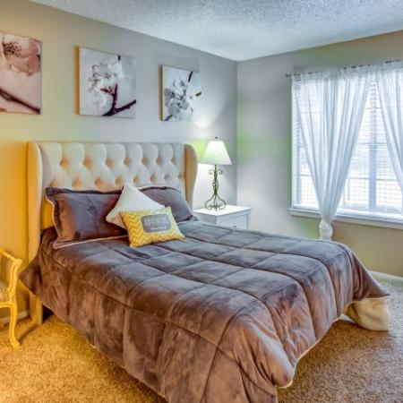 Spacious Master Bedroom | Apartments Homes for rent in Austin, TX | Hunt Club Austin
