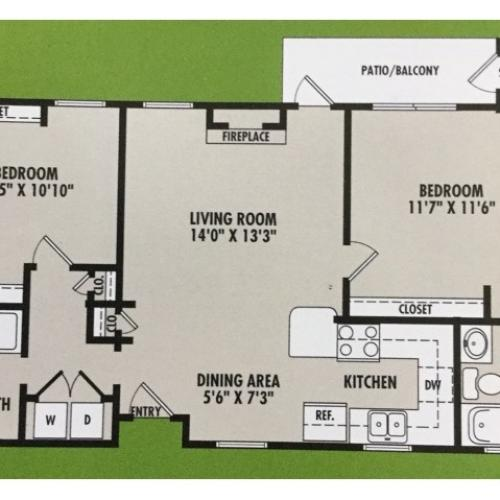 Floor Plan 2 | VERT at Six Forks