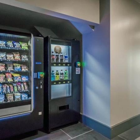 Beverage and snack vending machines