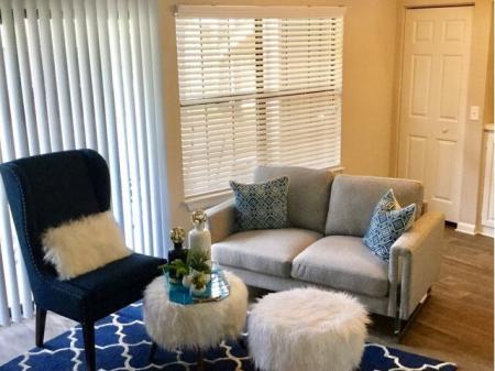 Elegant Living Room | Raleigh Apartments | VERT at Six Forks