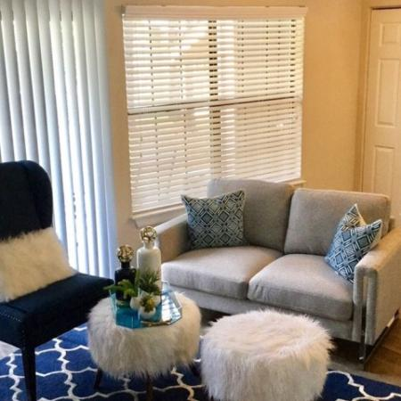Elegant Living Room | Raleigh Apartments | VERT at Six Forks