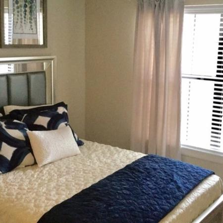 Elegant Bedroom | Apartment Homes In Raleigh | VERT at Six Forks