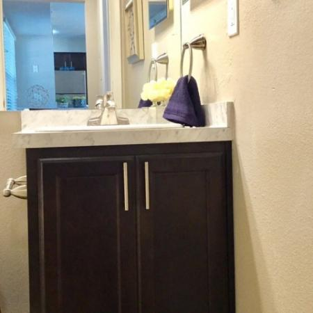 Ornate Bathroom | Apartments in Raleigh | VERT at Six Forks