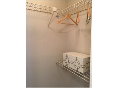 Spacious Closet | Apartments in Raleigh | VERT at Six Forks