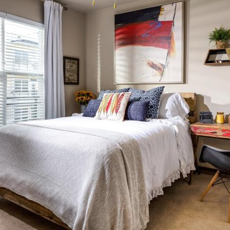 Luxurious Master Bedroom | Apartment in Nashville, TN | 909 Flats