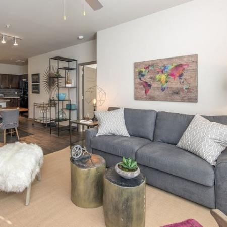 Spacious Living Area | Apartments Homes for rent in Nashville, TN | 909 Flats