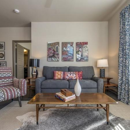 Luxurious Living Room | Apartment Homes in Nashville, TN | 909 Flats