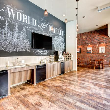 Resident Coffee Bar | Apartments Homes for rent in Nashville, TN | 909 Flats