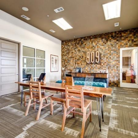 Elegant Community Club House | Nashville TN Apartments | 909 Flats