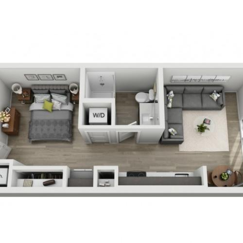 Studio Apartment | One Bedroom One Bath