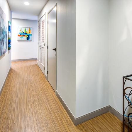 Spacious Hallway | Apartments in Cleveland | The Standard