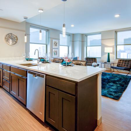Modern Kitchen | Apartment Homes In Cleveland | The Standard