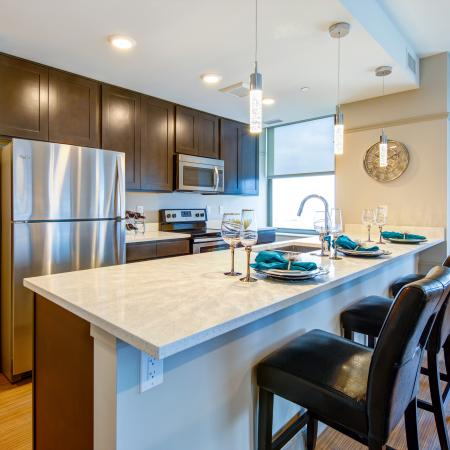 State-of-the-Art Kitchen | Cleveland Ohio Apartments | The Standard