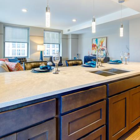 Elegant Kitchen | Apartments in Cleveland | The Standard