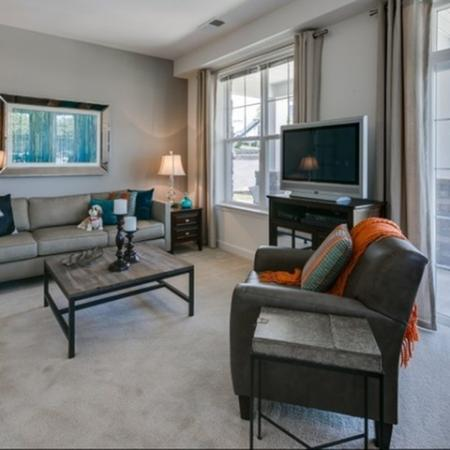Luxurious Living Area 1 | apartments for rent in frederick maryland | Prospect Hall
