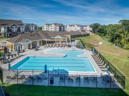 Resort Style Pool   apartments for rent in frederick maryland   Prospect Hall