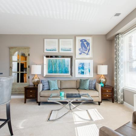 Spacious Living Room | apartments for rent in frederick maryland | Prospect Hall