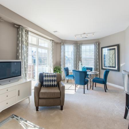 Luxurious Living Area | apartments for rent in frederick maryland | Prospect Hall