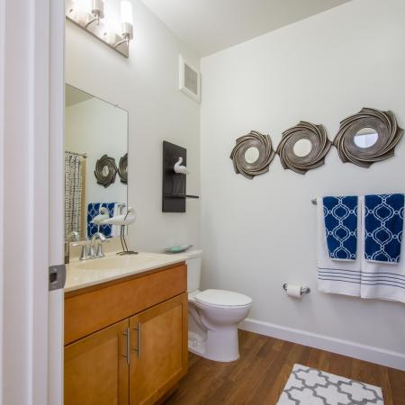Spacious Bathroom | apts In frederick md | Prospect Hall
