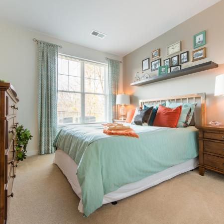 Elegant Bedroom | apts In frederick md | Prospect Hall
