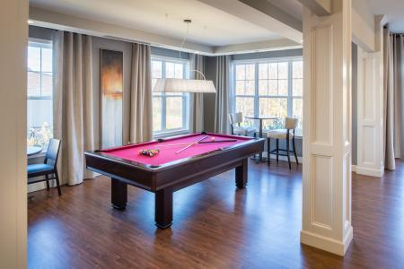 Resident Game Room   apartments for rent in frederick maryland   Prospect Hall