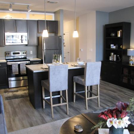 Elegant Kitchen | apartments in mt lebanon pa | The Ashby at South Hills Village Station