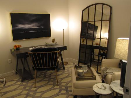 Elegant Living Area | 3 bedroom houses for rent in pittsburgh pa | The Ashby at South Hills Village Station