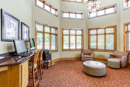 Cyber Cafe in Naperville | Thornberry Woods Apartment Homes