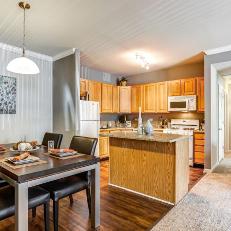 Kitchen Islands in Naperville | Thornberry Woods Apartment Homes