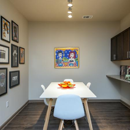 Dining Area | Nashville Tennessee Apartments | 909 Flats
