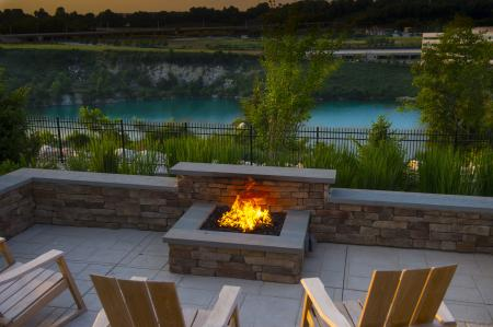 Community Fire Pit | Apartment Homes In Malvern | The Haven at Atwater Village