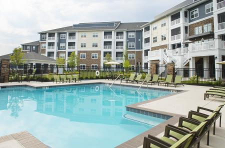 Sparkling Pool | Malvern Apartments | The Haven at Atwater Village