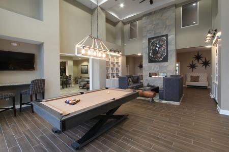 Resident Pool Table | Apartments in Malvern | The Haven at Atwater Village