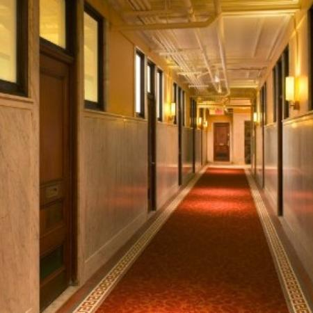 Beautiful Interior conditioned hallways