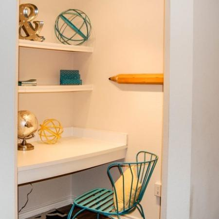 Desk and Work Area | Durham Apartments, NC | Lodge at Southpoint Apartments