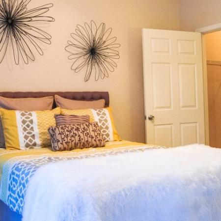 Spacious Bedroom | Durham Apartments, NC | Lodge at Southpoint Apartments