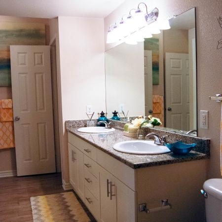 Bathroom | Lodge at Southpoint Apartments | Durham, NC | For Rent