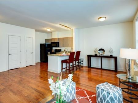 Spacious Living Room | Meridia Lafayette Village