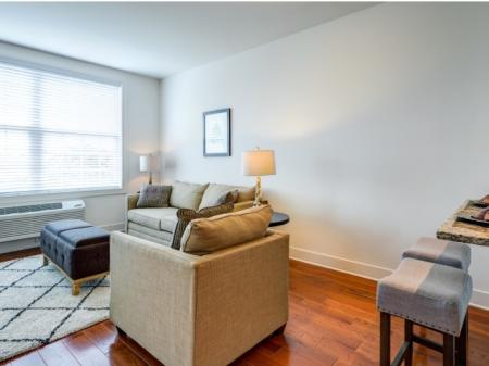 Elegant Living Area | Meridia Lafayette Village